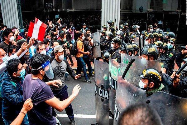 رئیس جمهور موقت پرو معترضان را دعوت به آرامش کرد