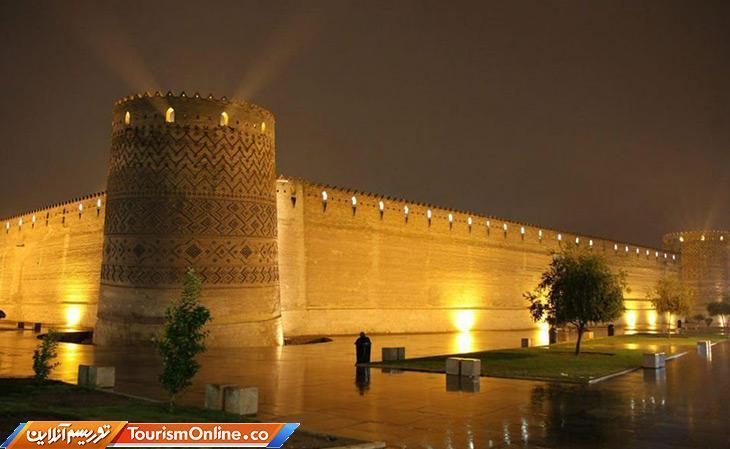 بنای از زندیه که در قلب شیراز درخشان است، تصاویر